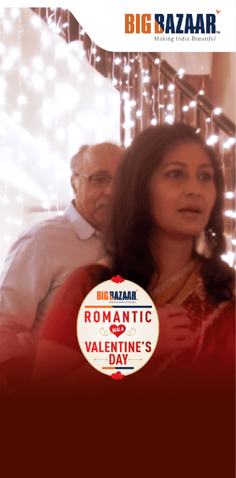 Big Bazaar Romantic Wala Valentines Day Love Knows No Age #Big Vday