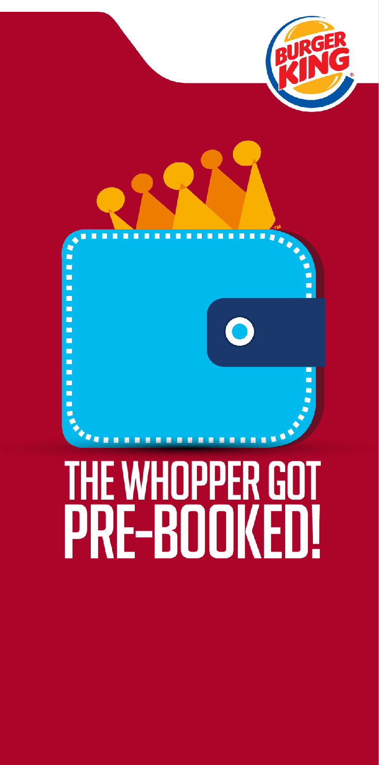 Burger King - The Whooper Got Pre-booked!