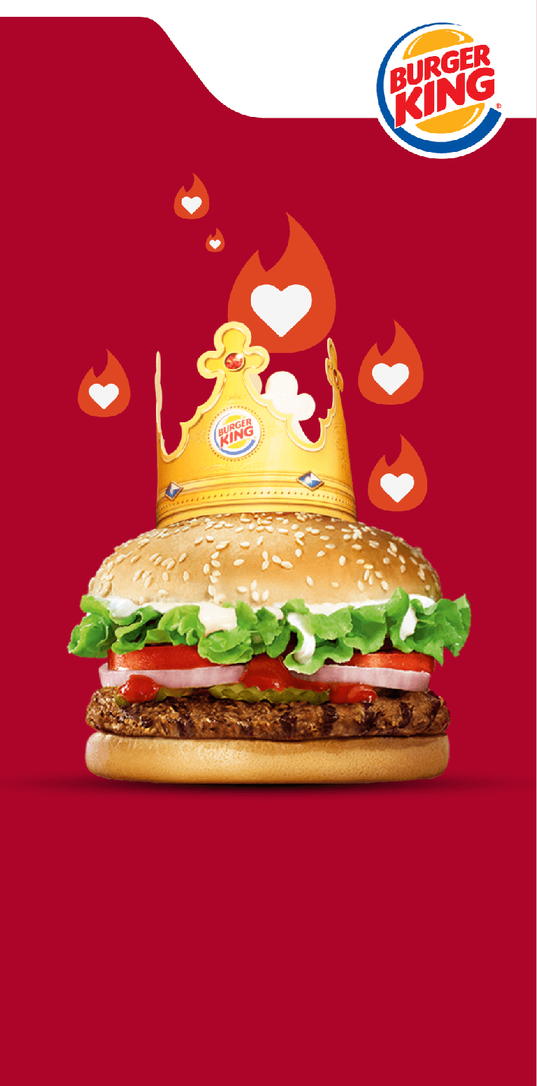 King Sized Love Burger King on Tinder