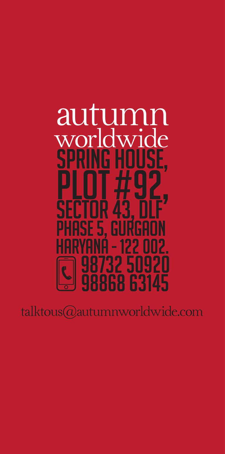 Spring House, Plot #6006, DLF Phase IV, Sector 28 Gurgaon Haryana - 122002. 9886001710 9886863145